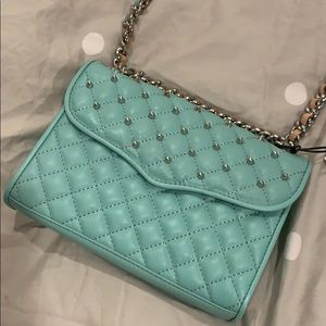 Rebecca Minkoff Quilted Studded Purse (Brand New)